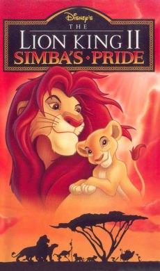 Король-лев 2: Гордость Симбы  (видео)