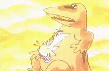 Веселая карусель N 12: Что случилось с крокодилом?