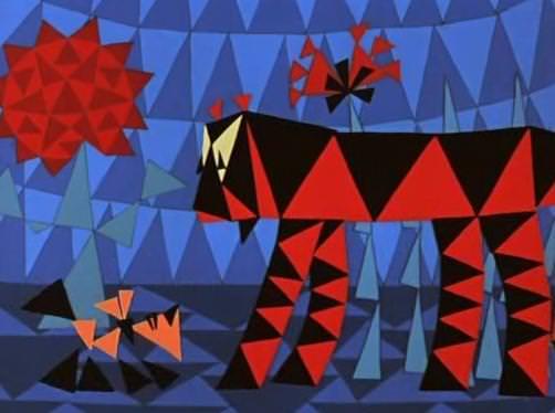 Веселая карусель N 1: Мозаика